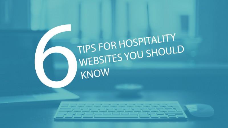 design better hospitality websites