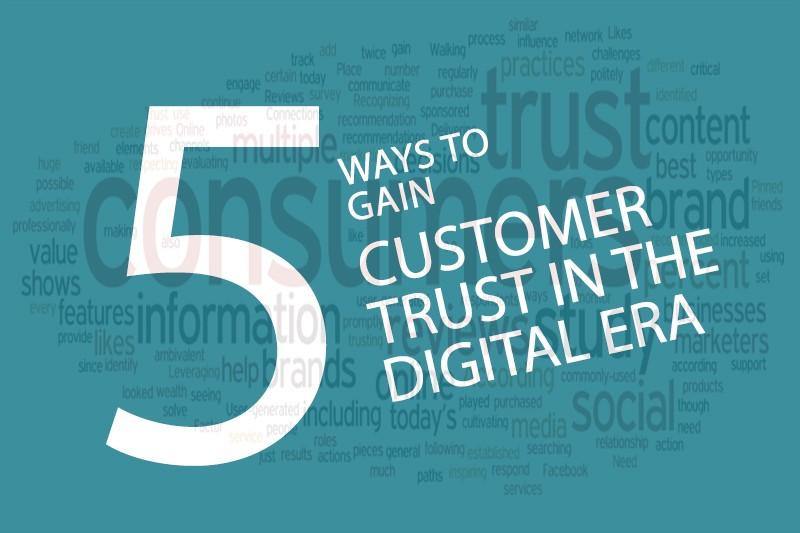 gain customer trust online